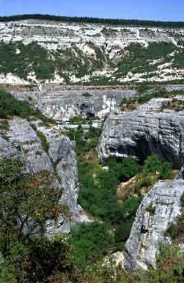 Staroselje лаге Kanly-Дере Каньон